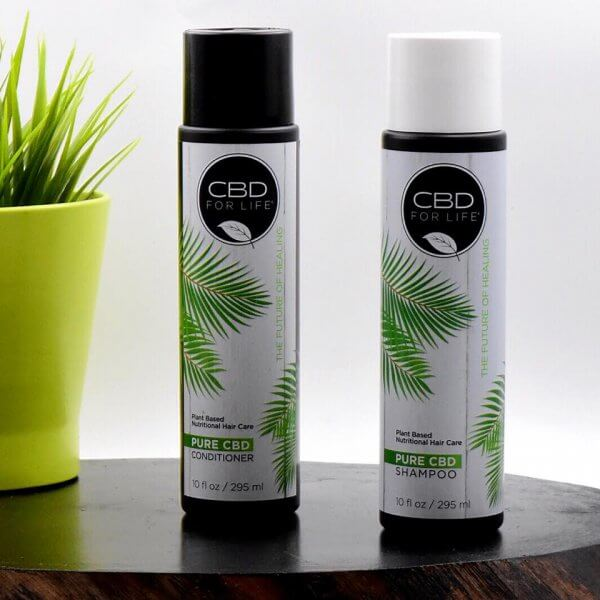 CBD for Life Shampoo and Conditioner